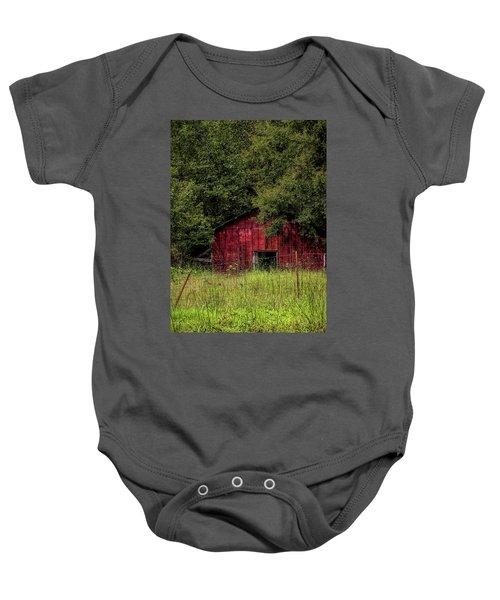 Small Barn 2 Baby Onesie
