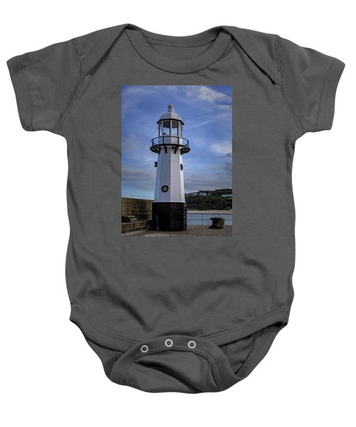Smeaton's Pier Lighthouse Baby Onesie