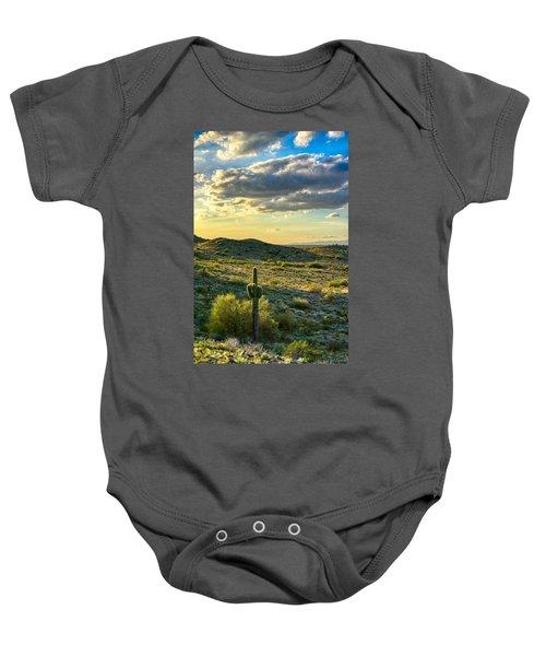 Sonoran Desert Portrait Baby Onesie