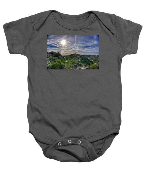 South Mountain Depth Baby Onesie