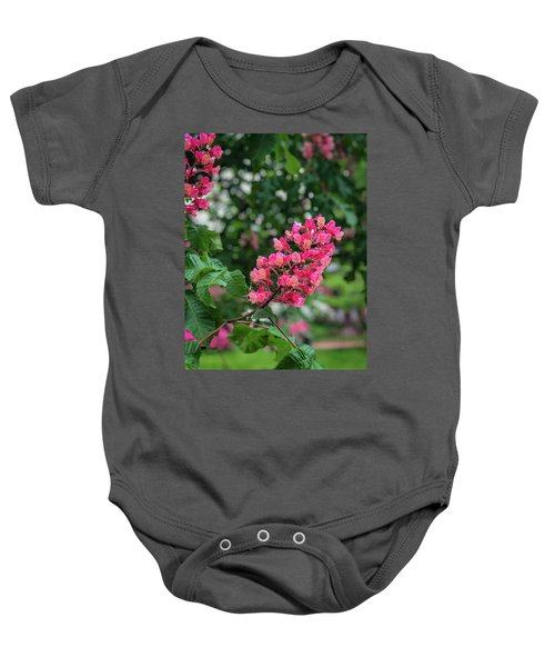 Spring Blossoms Baby Onesie