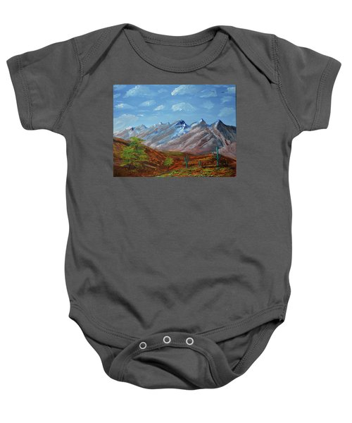 Spring Comes To Southern Arizona Baby Onesie