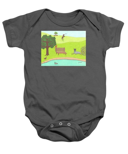 Spring Is In The Air Baby Onesie