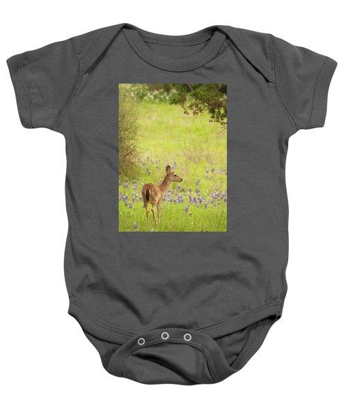 Springtime Whitetail Baby Onesie