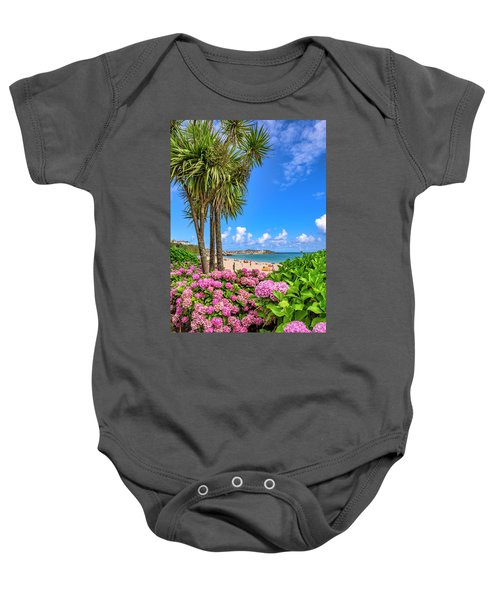 St Ives Cornwall - Summer Time Baby Onesie