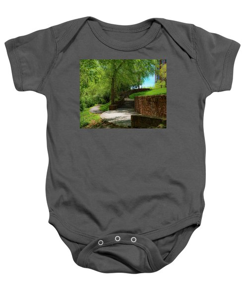 Stairway To Carlyle Baby Onesie