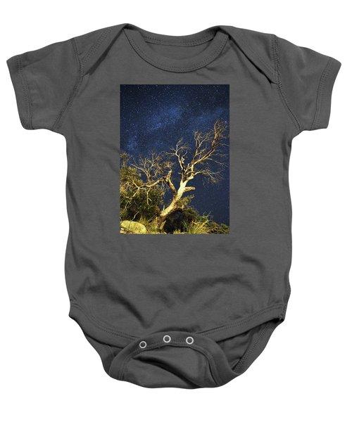 Stars Light Up Arizona Sky Baby Onesie