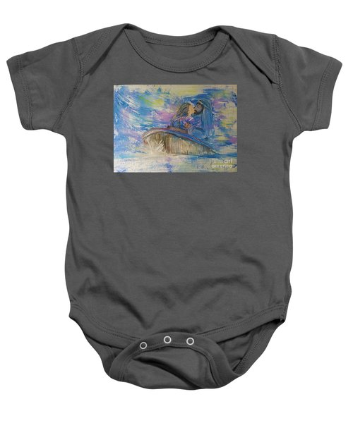 Staying The Course Baby Onesie