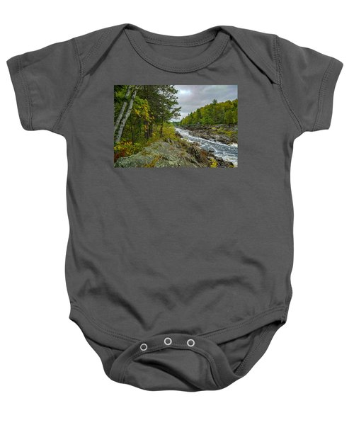 Storm Clouds At Jay Cooke Baby Onesie