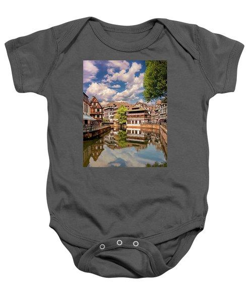 Strasbourg Center Baby Onesie
