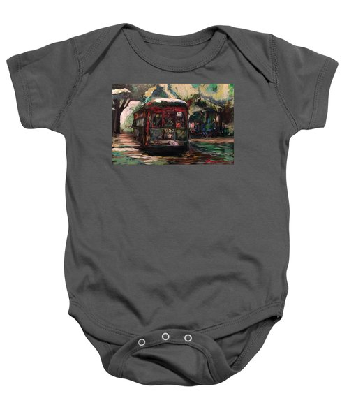 Streetcar  Baby Onesie
