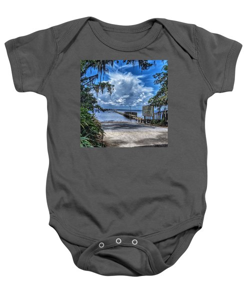 Strolling By The Dock Baby Onesie