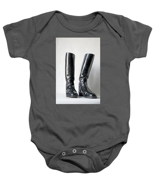 Studio. Riding Boots. Baby Onesie