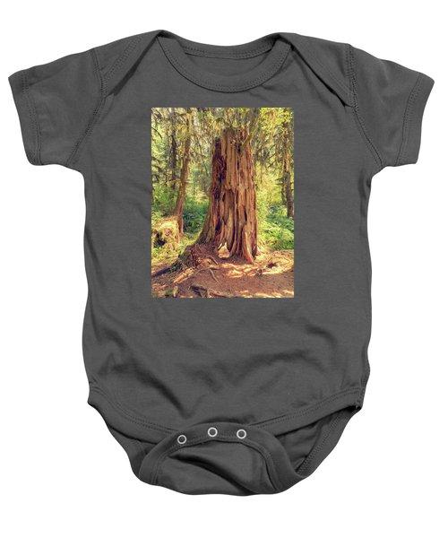 Stump In The Rainforest Baby Onesie