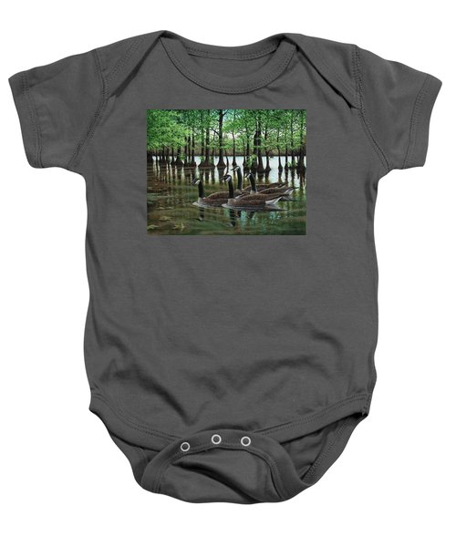 Summer Among The Cypress Baby Onesie