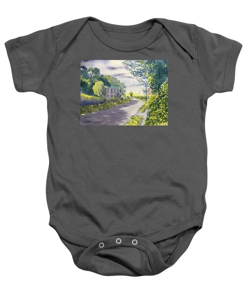 Sunny Side Of The Street Baby Onesie