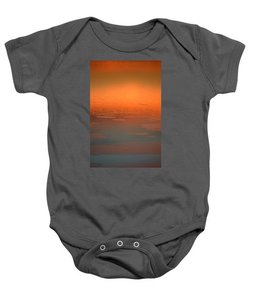 Sunrise Reflections Baby Onesie
