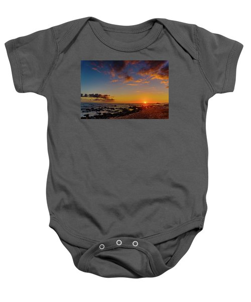 Sunset At Kailua Beach Baby Onesie