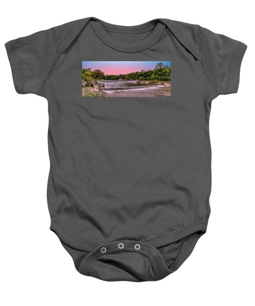 Sunset At The Falls Baby Onesie