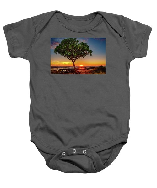 Sunset Tree Baby Onesie