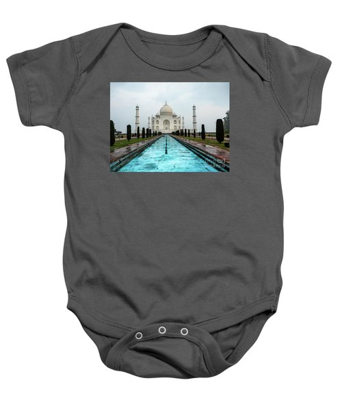 Taj Mahal Baby Onesie
