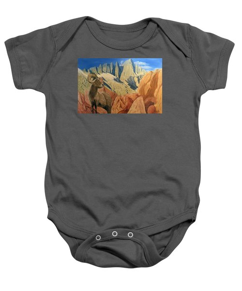 Taking In The Morning Baby Onesie