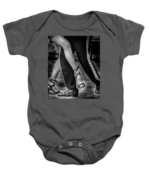 Tango Of Feet Baby Onesie