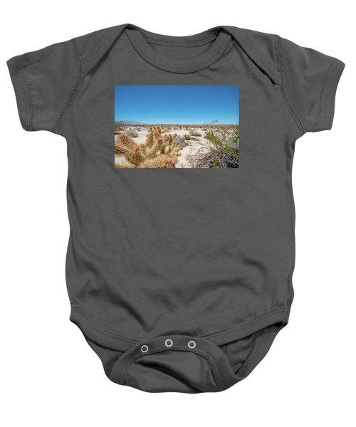 Teddy Bear Cactus Baby Onesie