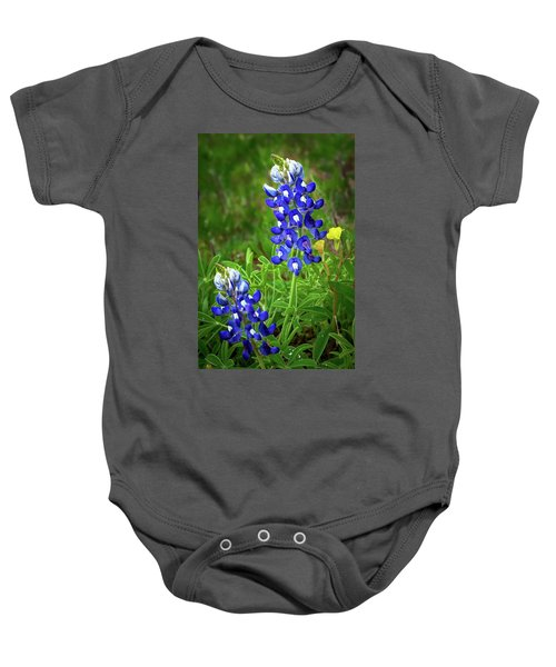 Texas Bluebonnet  Baby Onesie