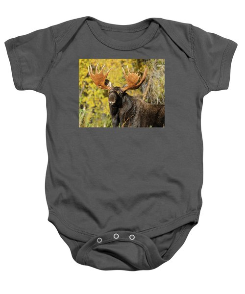 Baby Onesie featuring the photograph The Best One by Mary Hone