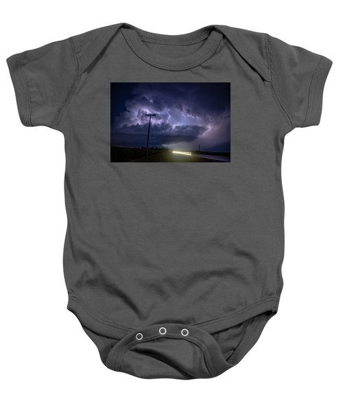 The Best Supercell Of The Summer 043 Baby Onesie