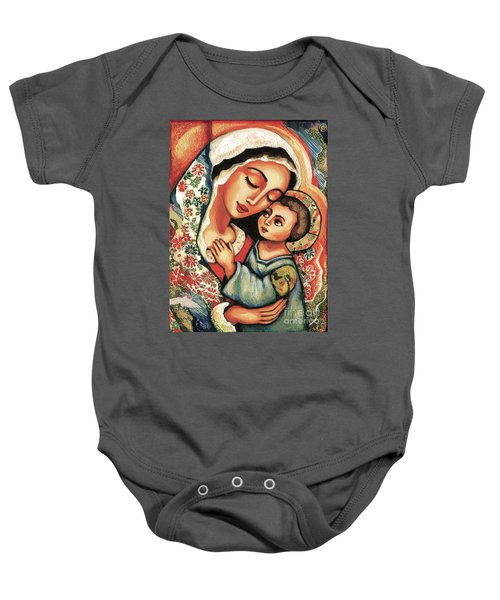 The Blessed Mother Baby Onesie