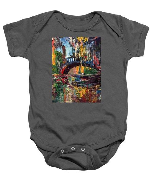 The Bridge At City Park New Orleans Baby Onesie