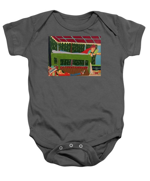 The Bunk Baby Onesie