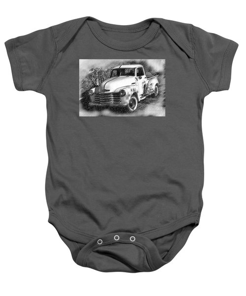 The Chevy Truck Baby Onesie