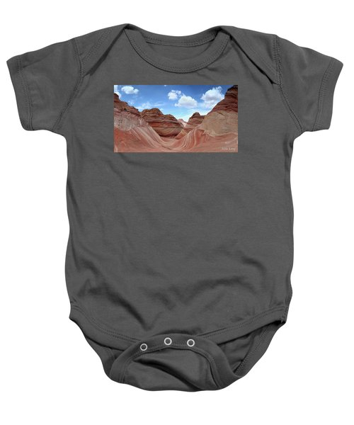 The Classic Wave Baby Onesie