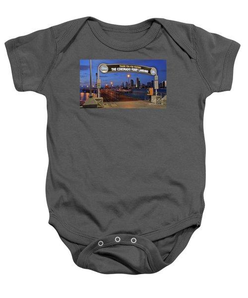 The Coronado Ferry Landing Baby Onesie