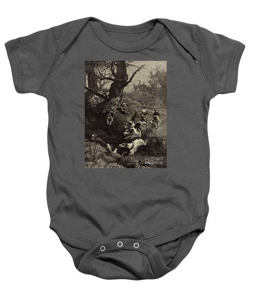 The End Of The Tail Baby Onesie