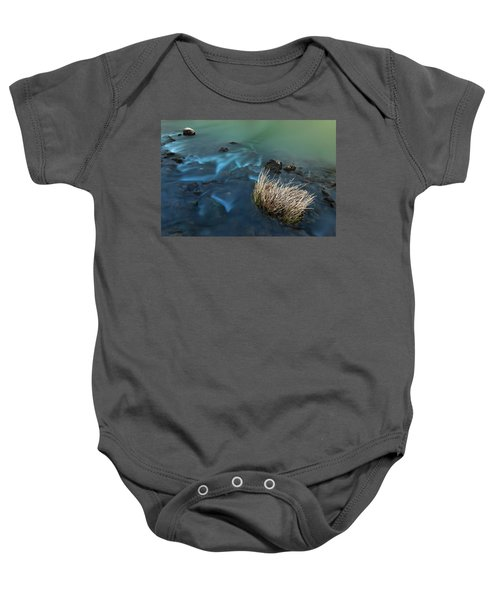 The Flow Of Time Baby Onesie
