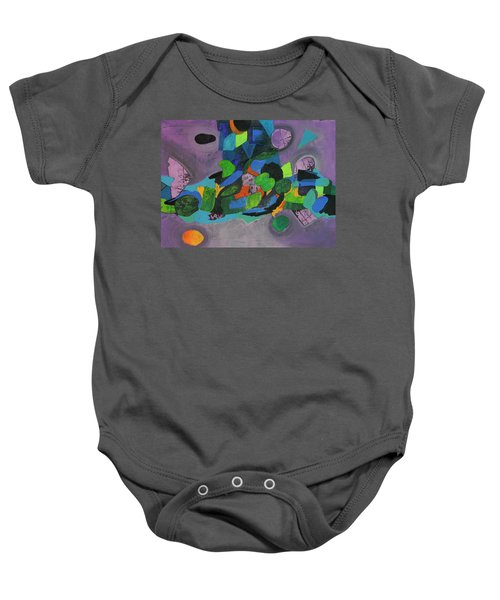 The Force Of Nature Baby Onesie