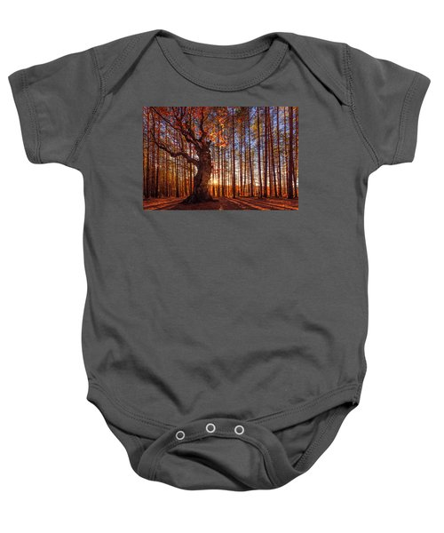 The King Of The Trees Baby Onesie