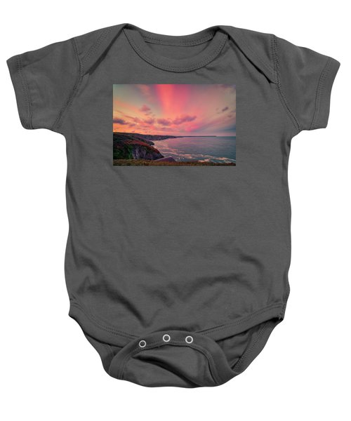 The Lizard Point Sunset Baby Onesie