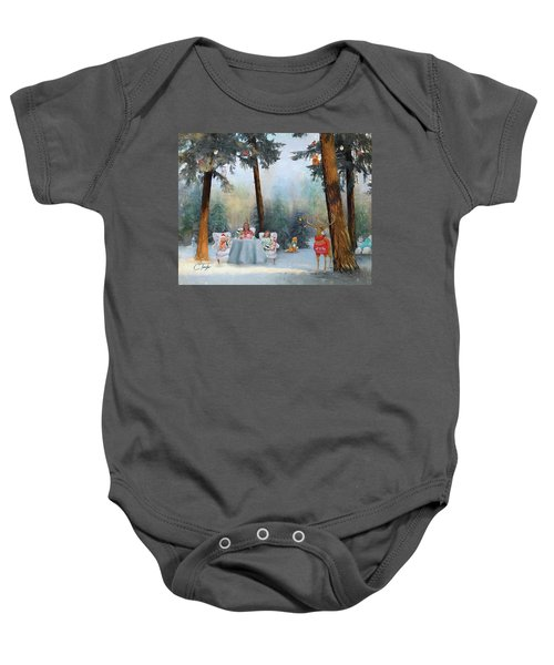 The Mystical Magical Wonders Of The Forest Baby Onesie