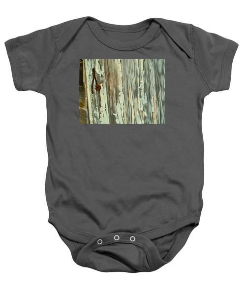 The Peeling Wall Baby Onesie
