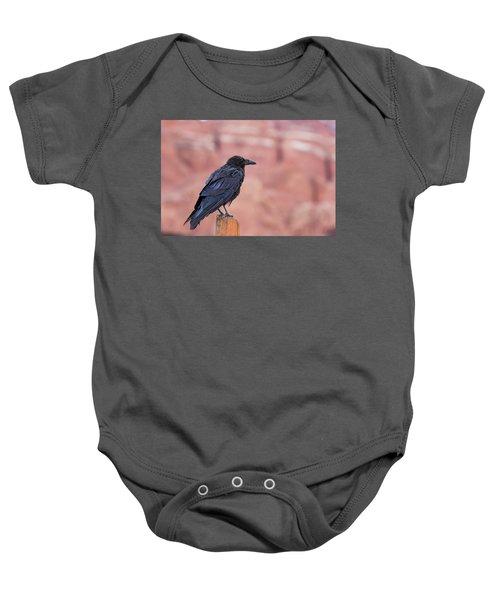 The Rainy Raven Baby Onesie