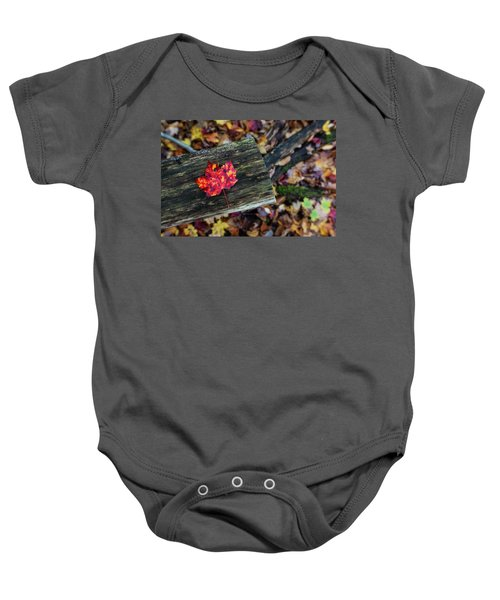 The Reason They Call It Fall Baby Onesie