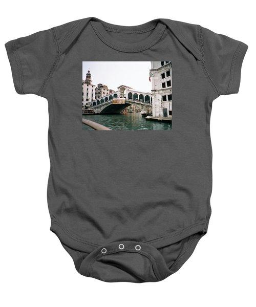 The Rialto Bridge  Baby Onesie