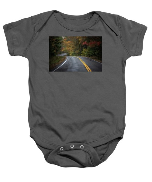 The Road To Friends Lake Baby Onesie