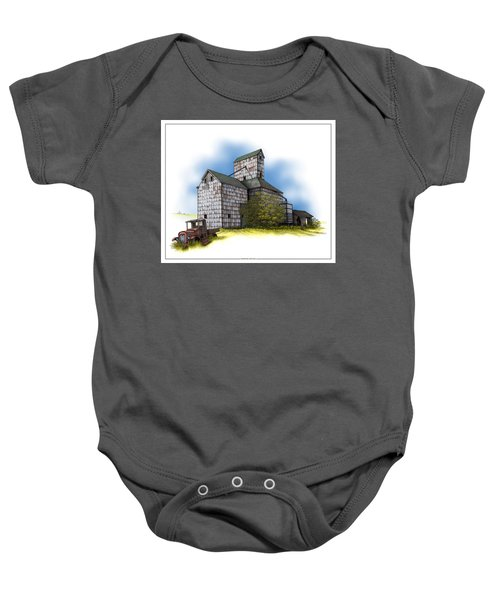 The Ross Elevator Autumn Baby Onesie