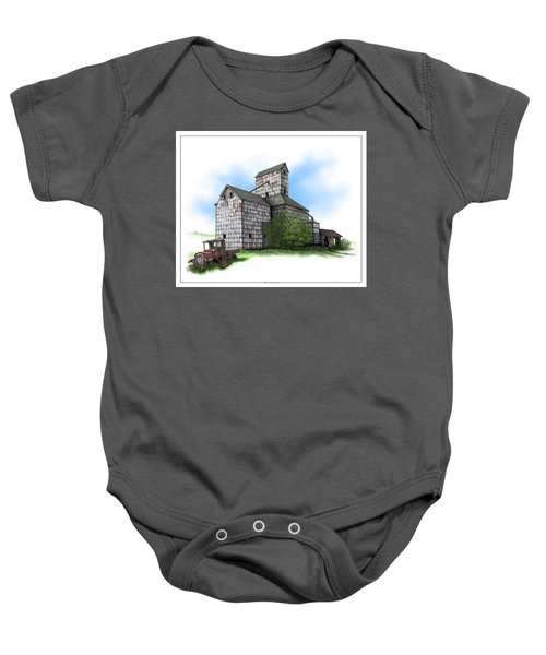 The Ross Elevator Summer Baby Onesie